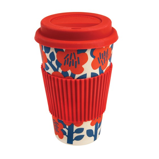 ASTRID RUBY BAMBOO TRAVEL MUG