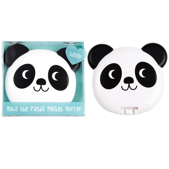 miko the panda pocket mirror