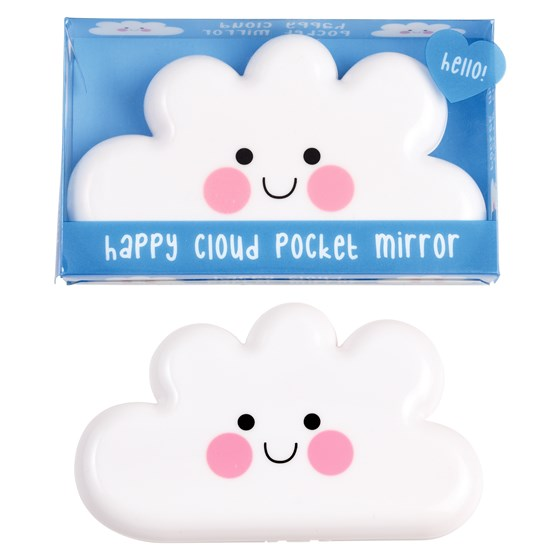 taschenspiegel happy cloud