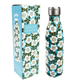 astrid olive stainless steel bottle