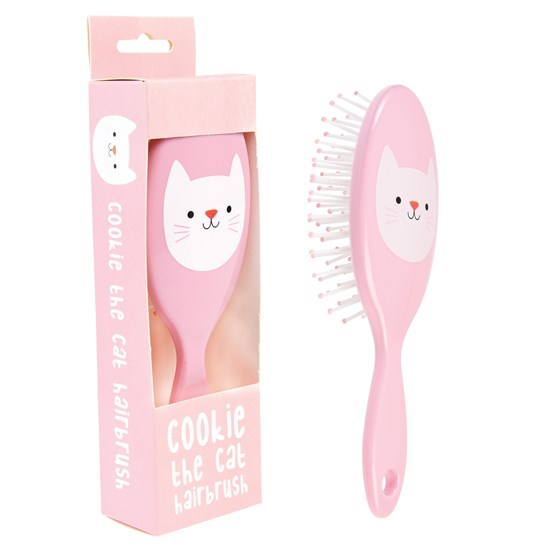 cookie the cat hairbrush