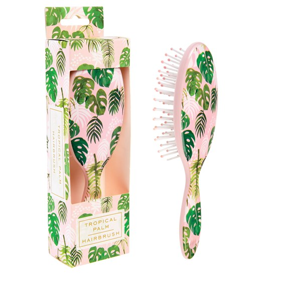 TROPICAL PALM HAIRBRUSH