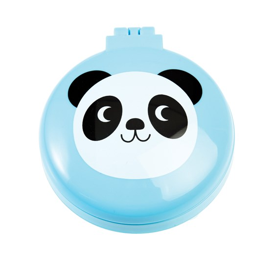 miko the panda compact hairbrush