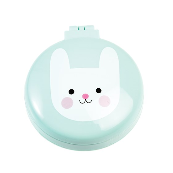 bonnie the bunny compact hairbrush