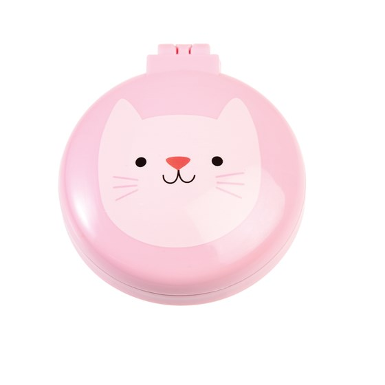 cookie the cat compact hairbrush