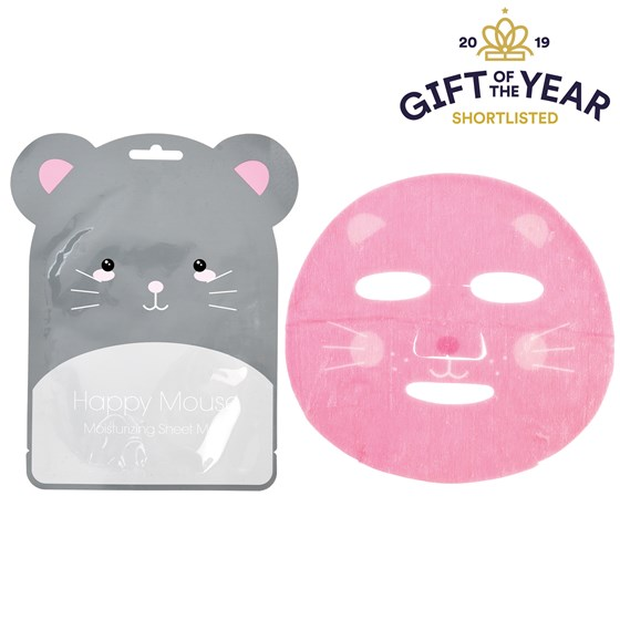 masque visage hydratante happy mouse