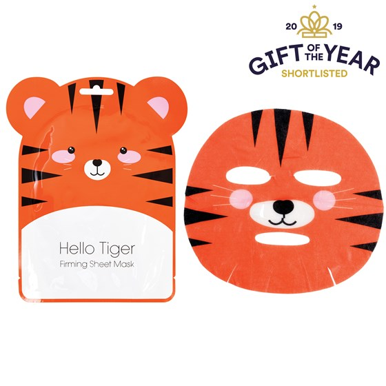 masque visage raffermissant hello tiger