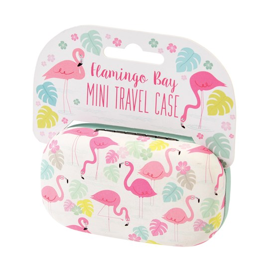 FLAMINGO BAY MINI TRAVEL CASE