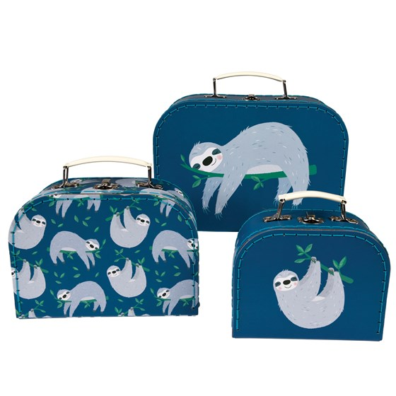 SYDNEY THE SLOTH CASES (SET OF 3)