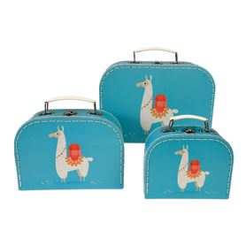 dolly llama cases (set of 3)