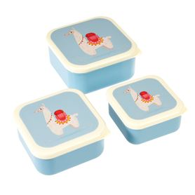 dolly llama snack boxes (set of 3)