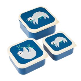 sydney the sloth snack boxes (set of 3)