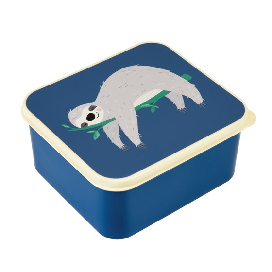 sydney the sloth lunch box