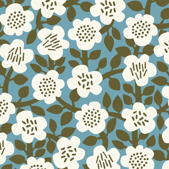 ASTRID OLIVE WRAPPING PAPER