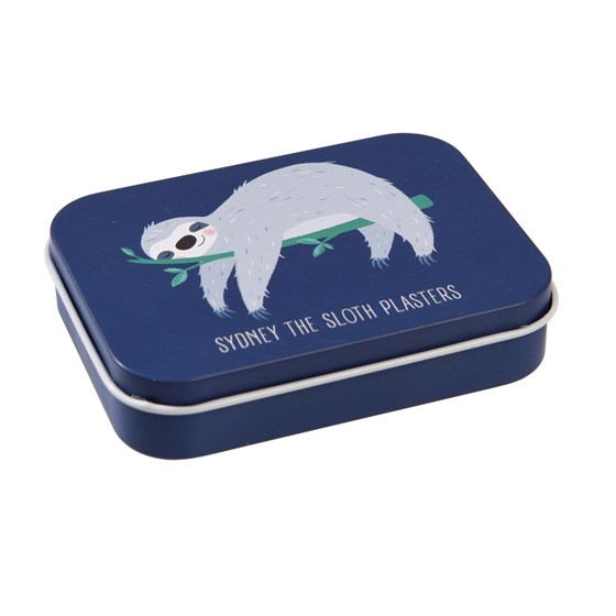 sydney the sloth plasters in a tin (pack of 30)