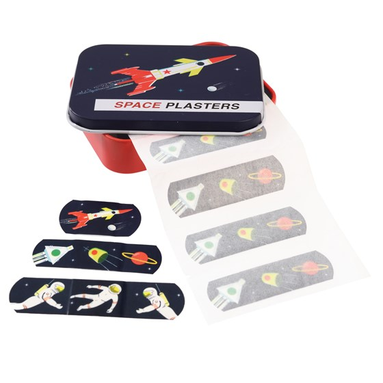 SPACE AGE PLASTERS IN A TIN (PACK OF 30)