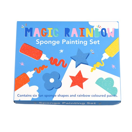 set de peinture éponge magic rainbow