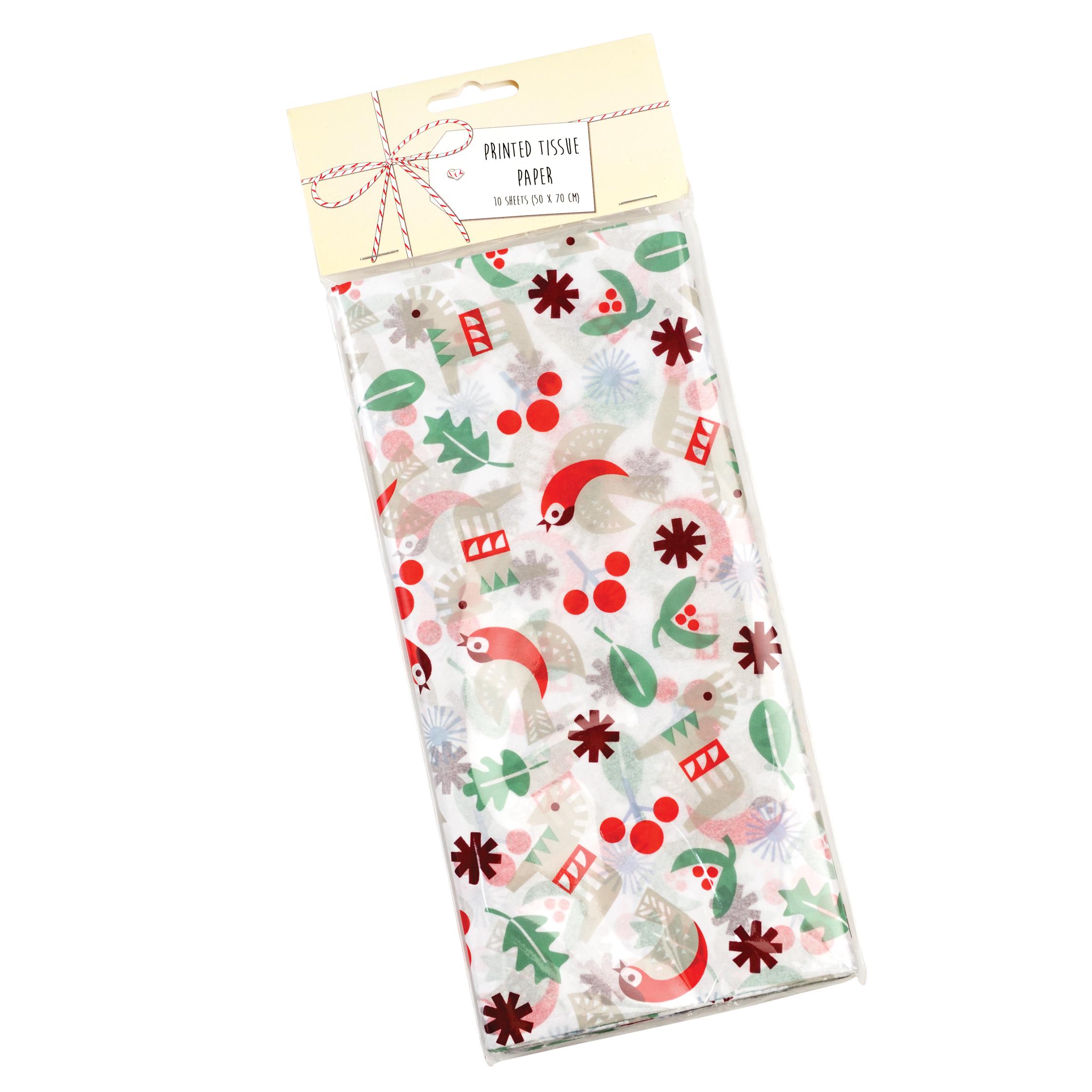 10 Feuilles REX London spage Age papier tissu