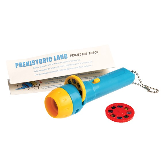 prehistoric land projector torch