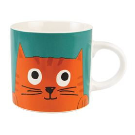 chester the cat ceramic mug