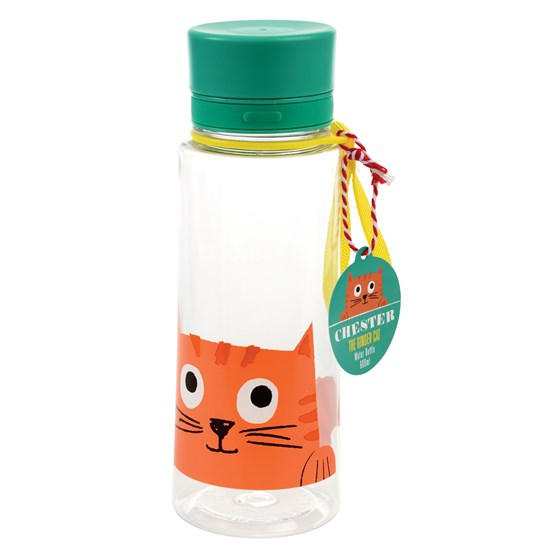 CHESTER THE CAT WATER BOTTLE