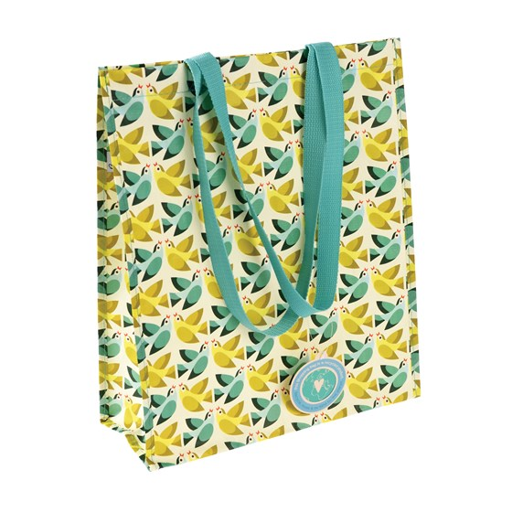 LOVE BIRDS SHOPPING BAG