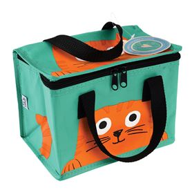 isolierte snacktasche chester the cat
