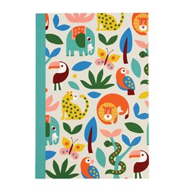 wild wonders a5 notebook