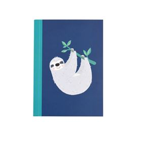 sydney the sloth a6 notebook