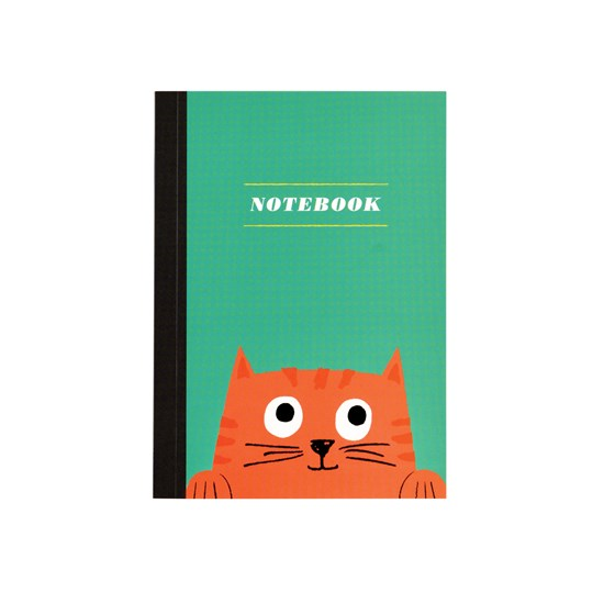 notizbuch a6 chester the cat