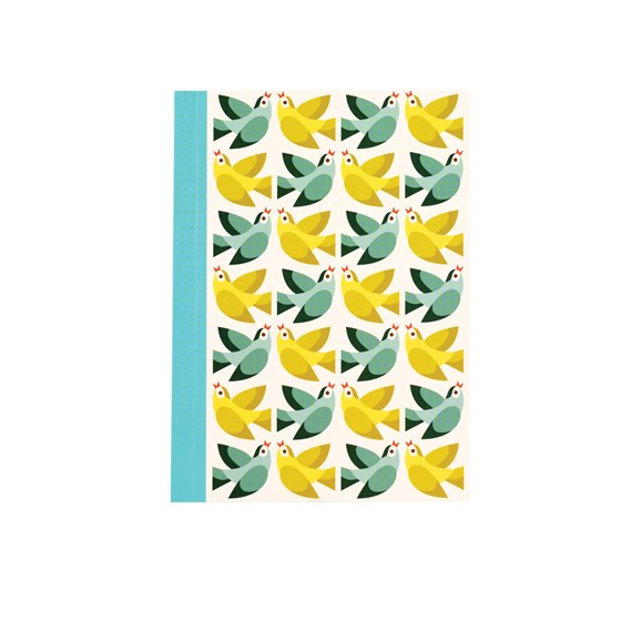 LOVE BIRDS A6 NOTEBOOK