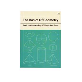 the basics of geometry a6 notebook