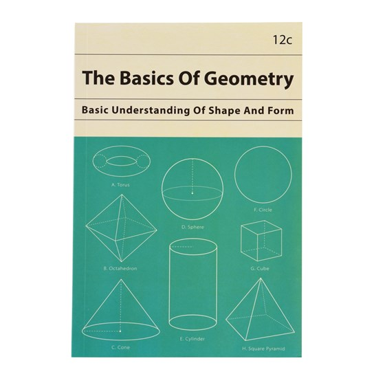 THE BASICS OF GEOMETRY A5 NOTEBOOK