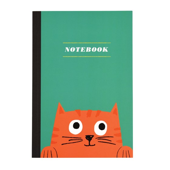 CHESTER THE CAT A5 NOTEBOOK