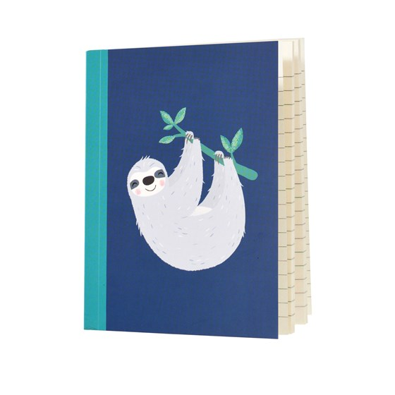 "carnet de notes a6 ""sydney the sloth"""