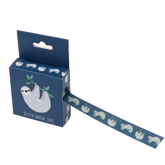 SYDNEY THE SLOTH WASHI TAPE