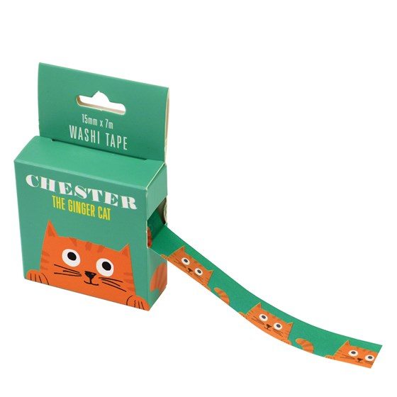 CHESTER THE CAT WASHI TAPE
