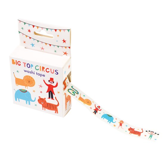 BIG TOP CIRCUS WASHI TAPE