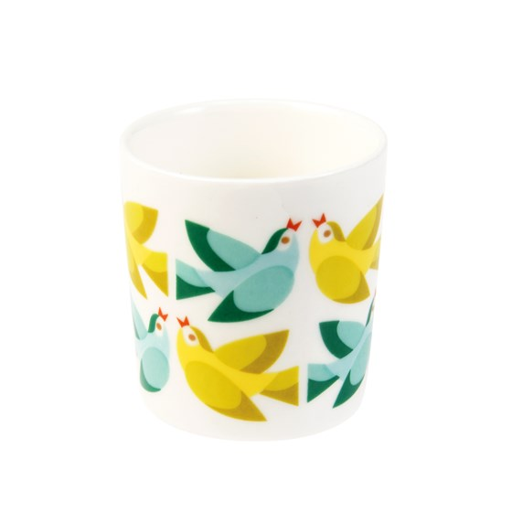 LOVE BIRDS BONE CHINA EGG CUP