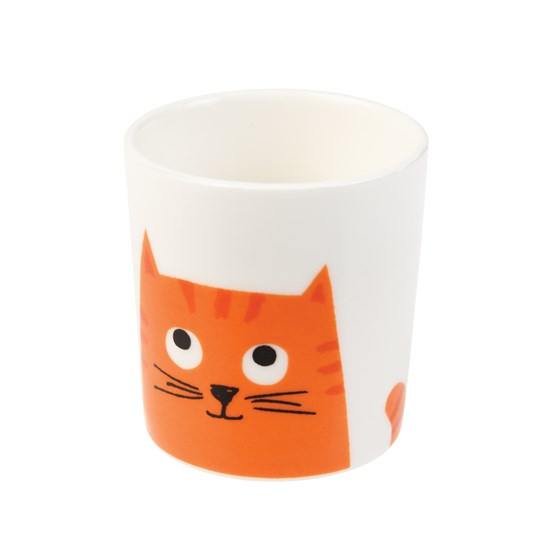 CHESTER THE CAT BONE CHINA EGG CUP