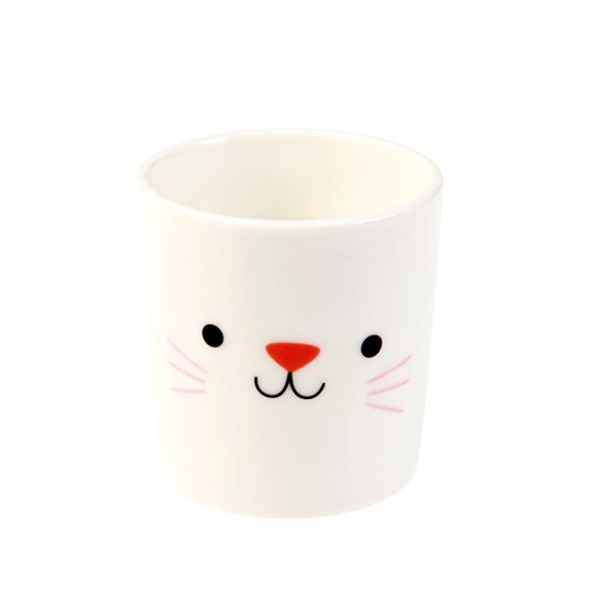 cookie the cat bone china egg cup