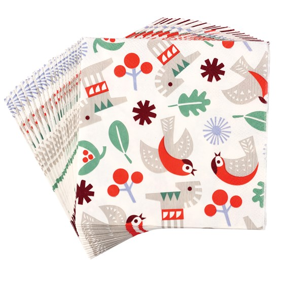 NORDIC CHRISTMAS NAPKINS (PACK OF 20)