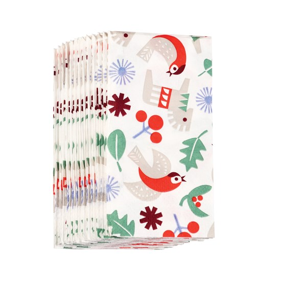 NORDIC CHRISTMAS TISSUES (PACK OF 12)