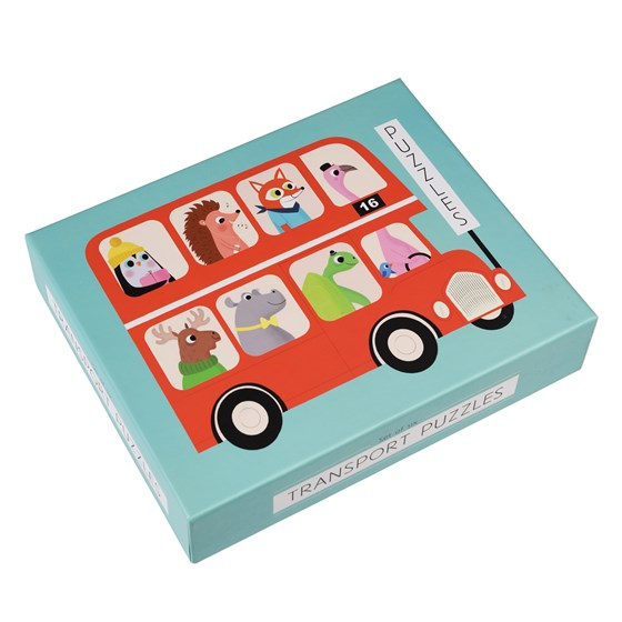 SET OF SIX TRANSPORT PUZZLES