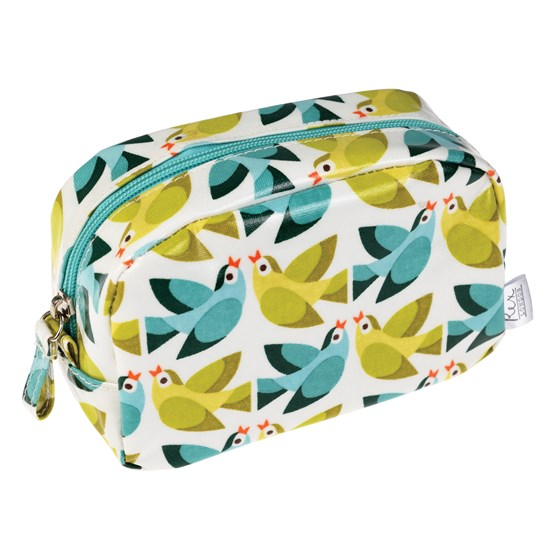 LOVE BIRDS MAKEUP BAG