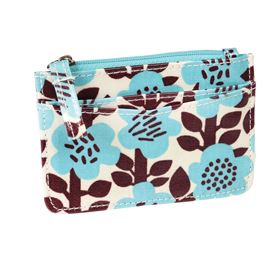 astrid flower card holder purse