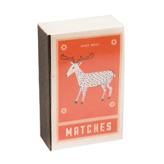 DEER MATCHBOX NOTEPAD
