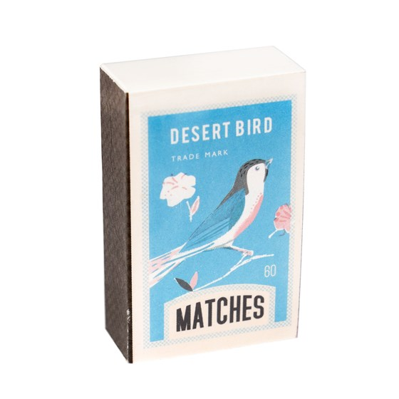 DESERT BIRD MATCHBOX NOTEPAD
