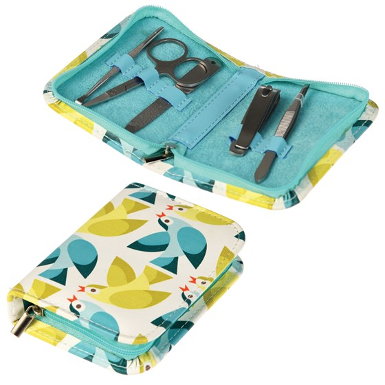 LOVE BIRDS MANICURE SET