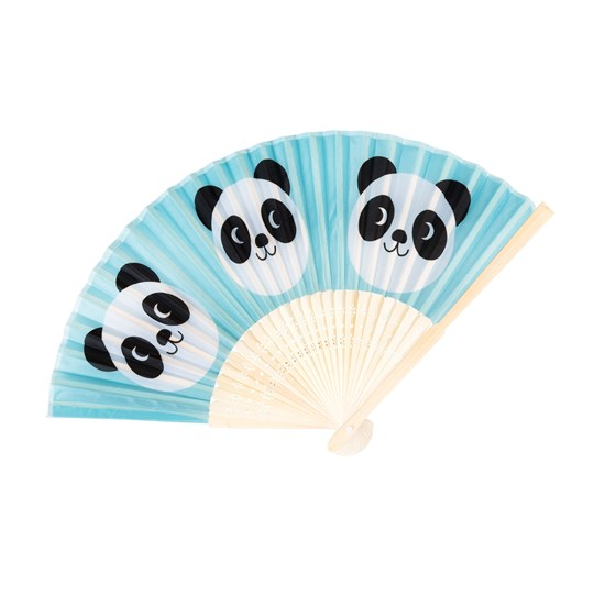 MIKO THE PANDA BAMBOO FAN